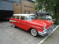 CHEVROLET BELAIR SW 1957, 6 CILINDROS.